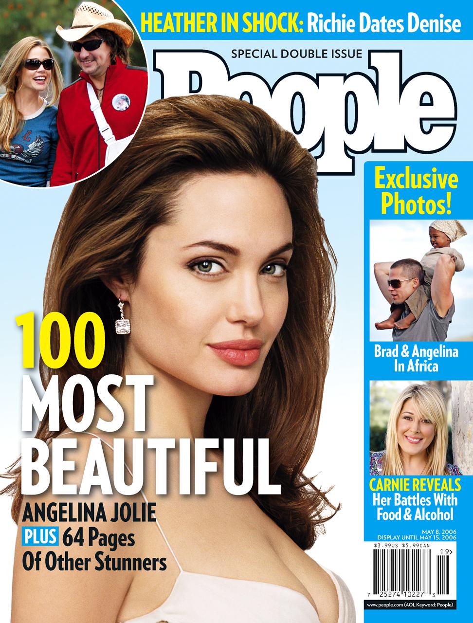 Angelina Jolie People Magazine Cover