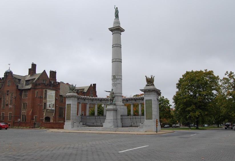 Jefferson Davis statue monument avenue by barxtux